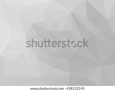 abstract grey low polygon background