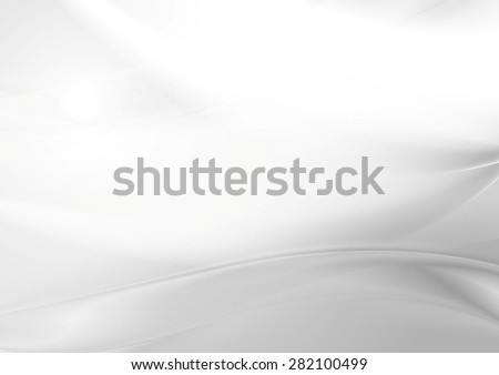 Abstract grey pearl smooth waves. Vector art background - stock vector