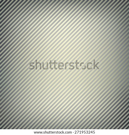 Abstract grey striped pattern with diagonal stripes. Graphic vector background - stock vector