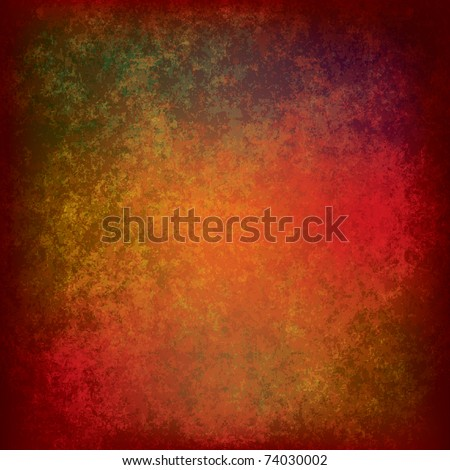 abstract grunge background of dirty red texture - stock vector