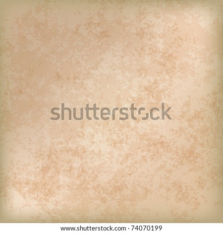 abstract grunge background of old paper texture - stock vector