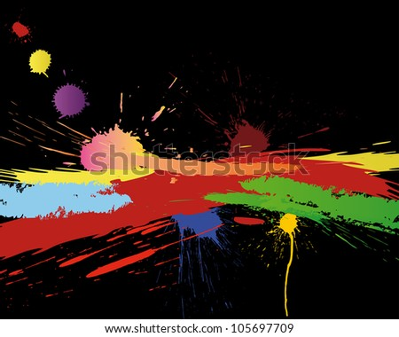 Abstract grunge vector background for design use.