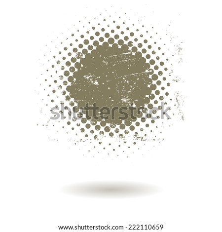 Abstract grunge vintage background - stock vector