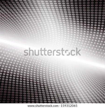 Abstract halftone background - stock vector