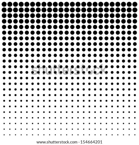 Abstract Halftone Background, vector illustration  - stock vector