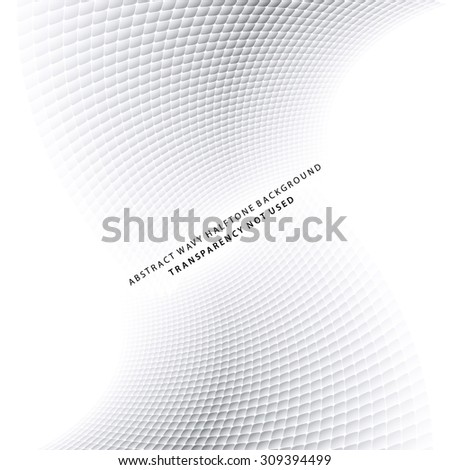 Abstract halftone background with soft grey tones. Ideal for brochure & flyer cover design works. - stock vector
