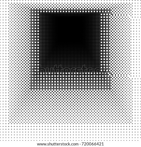 Abstract Halftone Design Vector Illustration