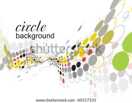 abstract halftone doted background, vector theme - stock vector