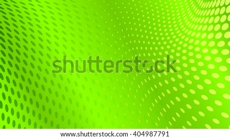 Abstract halftone dots background in green colors - stock vector