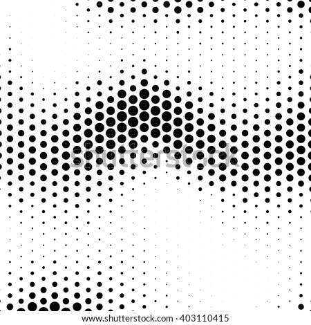 Abstract  halftone effect vector background. Dotted pattern.