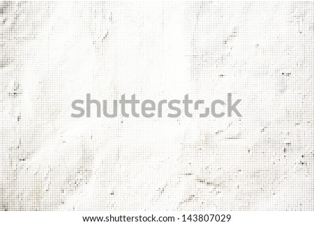 Abstract Halftone Vector White Background - stock vector