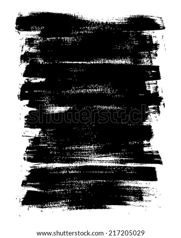Abstract hand drawn background,vector illustration. Grunge painted texture. - stock vector