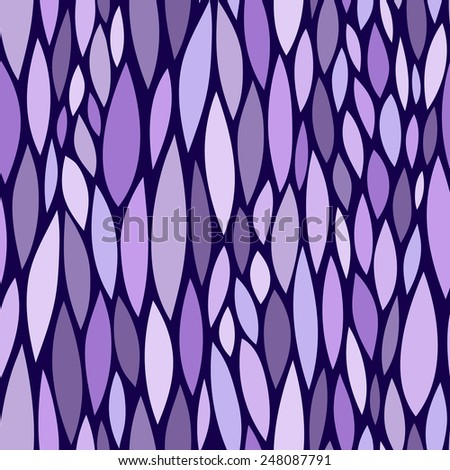 Abstract hand drawn seamless pattern. - stock vector