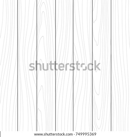 Abstract hand drawn wood background. Vector vertical boards
