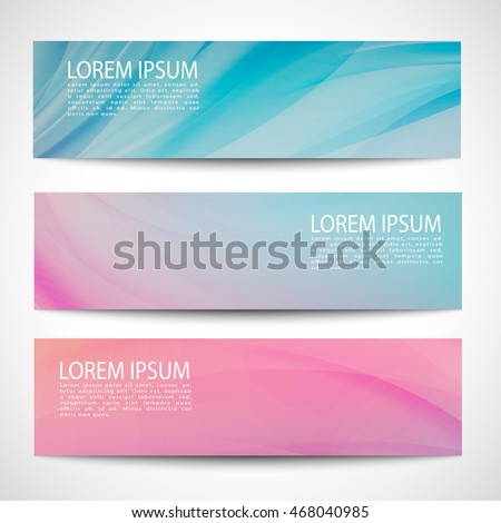 Abstract header line wave vector design. colorful background