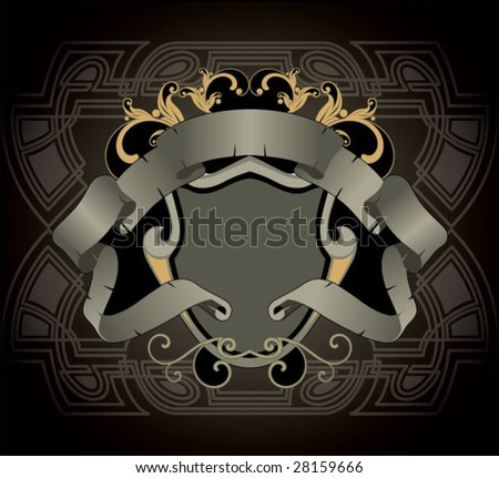abstract heraldic sign