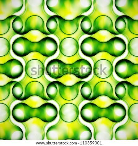Abstract hi-tech bubble texture - stock vector