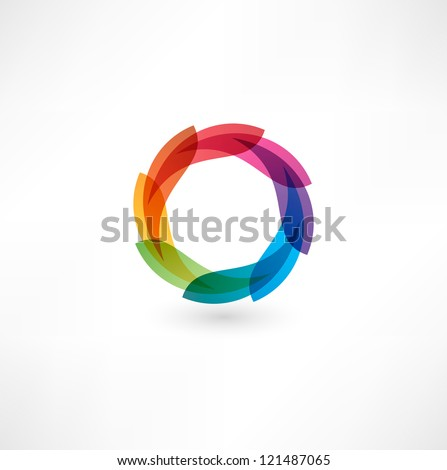 abstract icon - stock vector