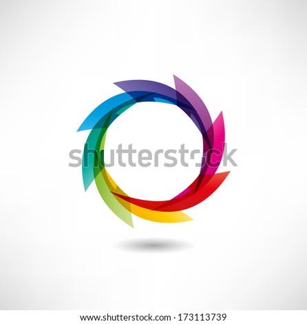 Abstract icon - stock vector