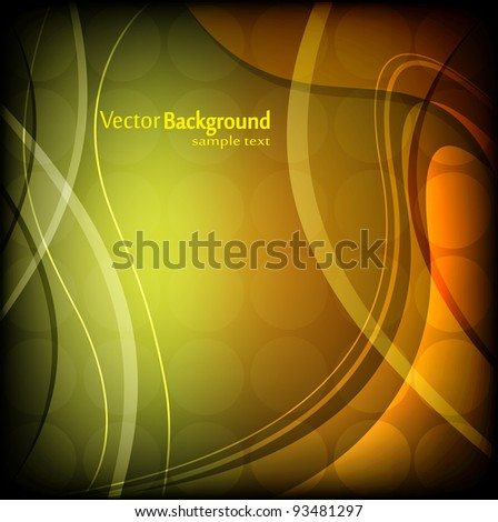 Abstract illustration - stock vector