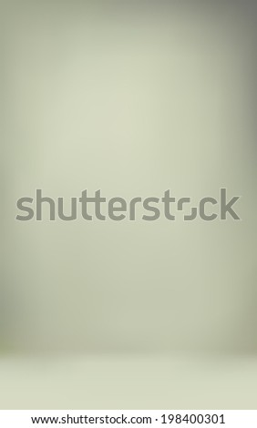 abstract illustration background texture of light gray and beige gradient wall, flat floor in empty room. - stock vector