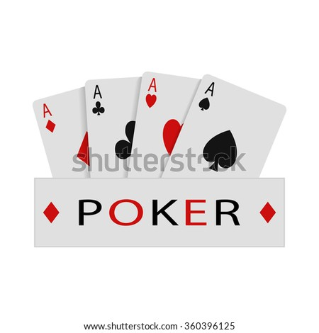 Abstract illustration - poker game