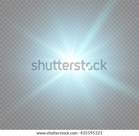 Abstract image of lighting flare.