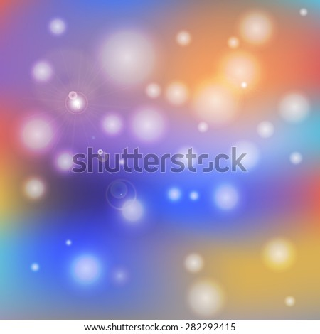 Abstract indistinct background - a vector illustration - stock vector