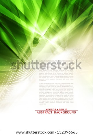 Abstract industrial background - stock vector