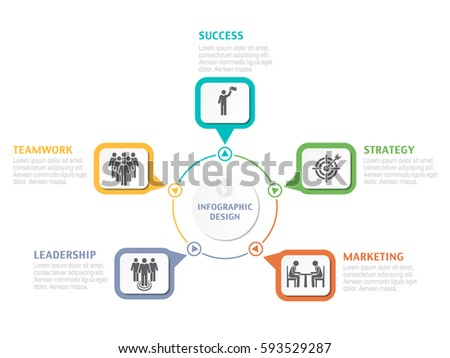 Abstract infographic number options business overview stock vector abstract infographic number options business overview visualization business template for presentation vector infographics accmission Gallery