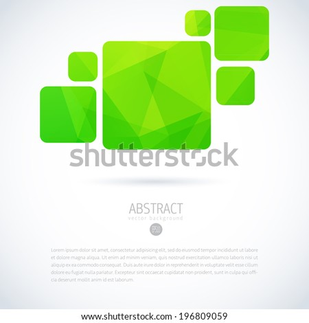 Abstract interface sign template. Concept for internet & applications. Vector icon.