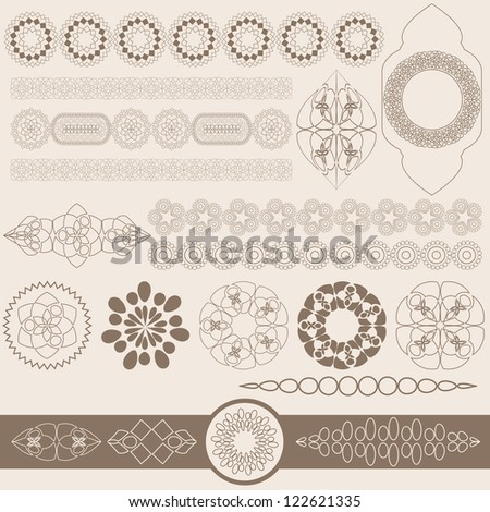 Abstract Islamic Background. Jpeg Version Also Available In Gallery. - stock vector