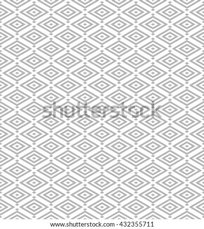 abstract japanese pattern background.geometric rhombus vector with light grey.ornament pattern