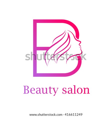 Abstract letter c logogold beauty salon stock vector for Abstract beauty salon