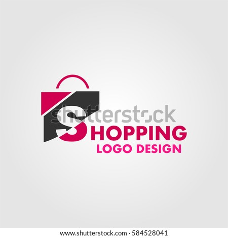 Shopping logo stock images royalty free images vectors for Design on line outlet