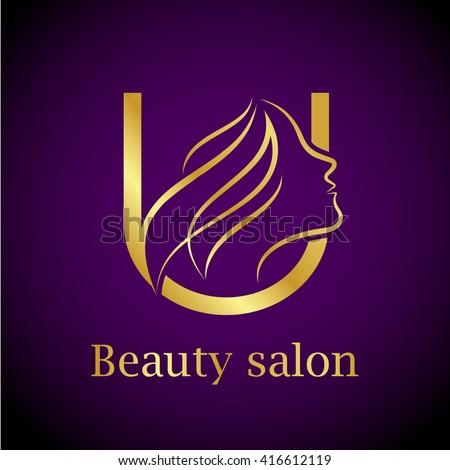 Sc logo stock vector 579863701 shutterstock for Abstract beauty salon