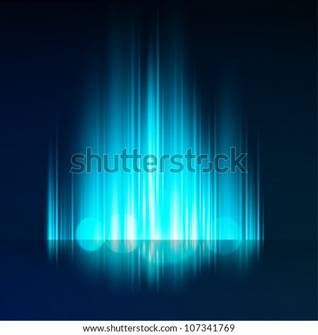 Abstract  light background - stock vector