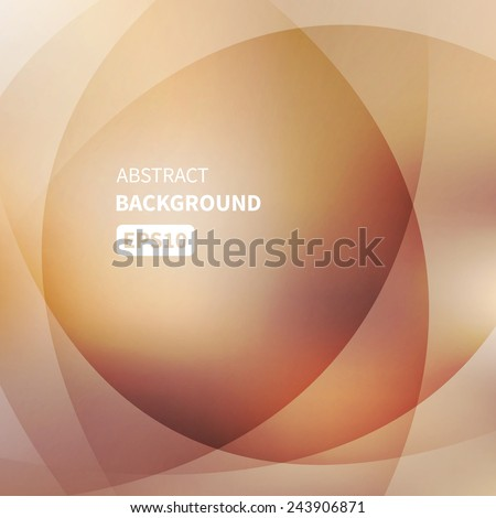 Abstract light gold vector background EPS10 - stock vector