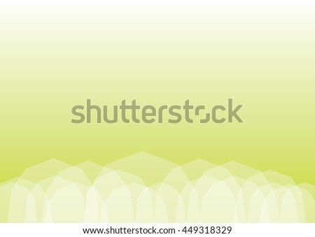 Abstract Light Green geometric polygonal background with place for copy. EPS10 file with transparency - stock vector