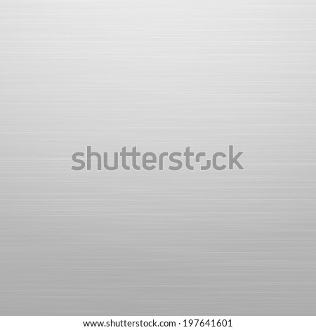 Abstract light grey background, similar to metal - stock vector