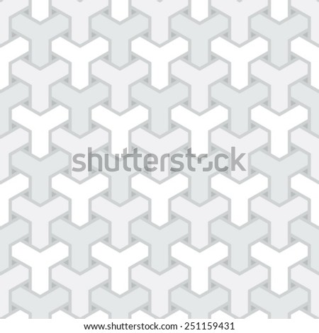 abstract light grey net seamless pattern - stock vector
