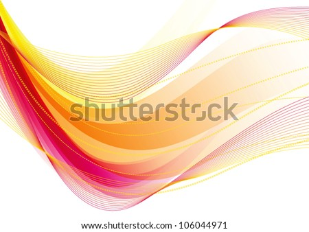 Abstract light pink vector background - stock vector