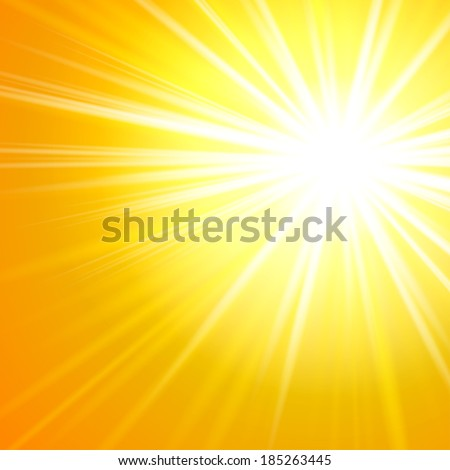 Abstract light sun background eps 10 - stock vector