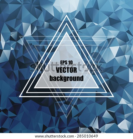 Abstract light template background. Vector illustration.  - stock vector