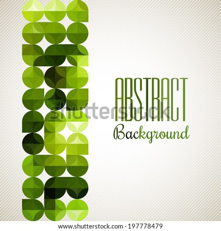 Abstract light vector background. Modern geometrical abstract background. Vector geometric abstract seamless pattern. EPS 10. - stock vector