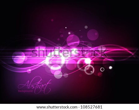 Abstract lights Background EPS 10