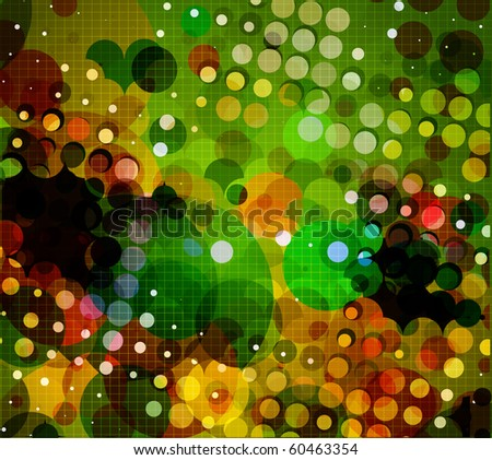 Abstract lights background, vector illustration. - stock vector