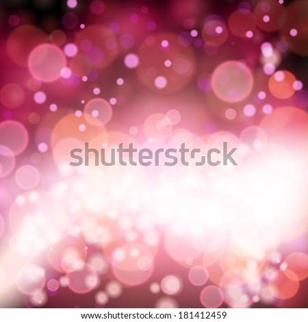 abstract lights, blurred abstract pattern. - stock vector