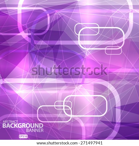 abstract lights purple background Vector illustration EPS10 - stock vector
