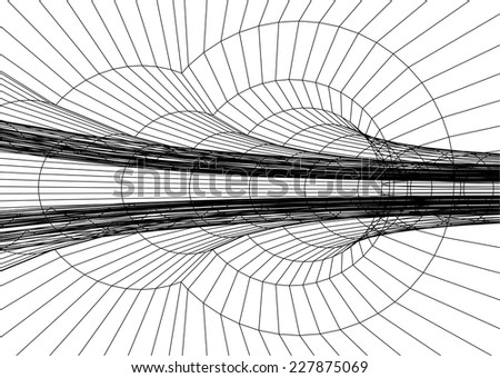 abstract linear background vector